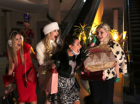 Fotograf Abigail Breslin, Billie Lourd, Emma Roberts, Lea Michele