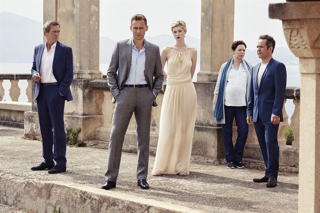Fotograf Elizabeth Debicki, Hugh Laurie, Olivia Colman, Tom Hiddleston, Tom Hollander