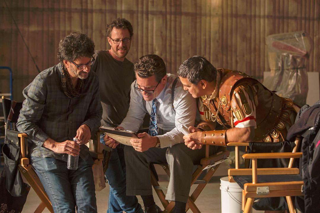 Yüce Sezar! : Fotograf Ethan Coen, George Clooney, Joel Coen, Josh Brolin