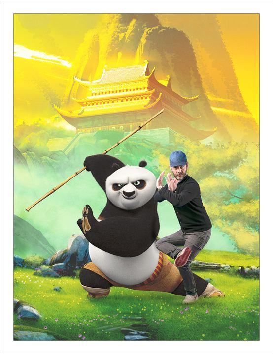 Kung Fu Panda 3 : Fotograf Manu Payet
