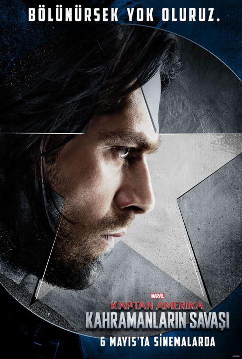 Kaptan Amerika: Kahramanlarin Savasi : Afis