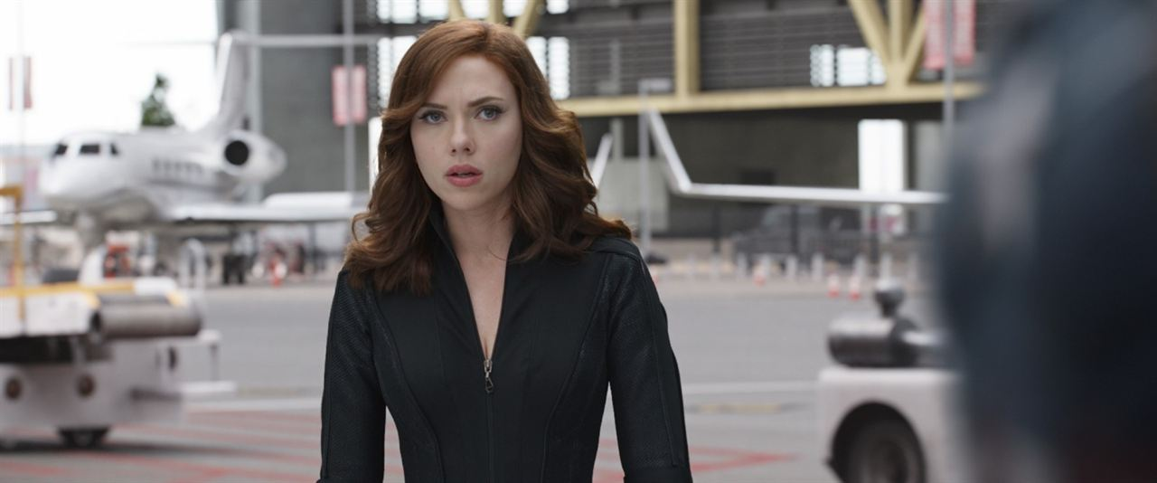 Kaptan Amerika: Kahramanlarin Savasi : Fotograf Scarlett Johansson