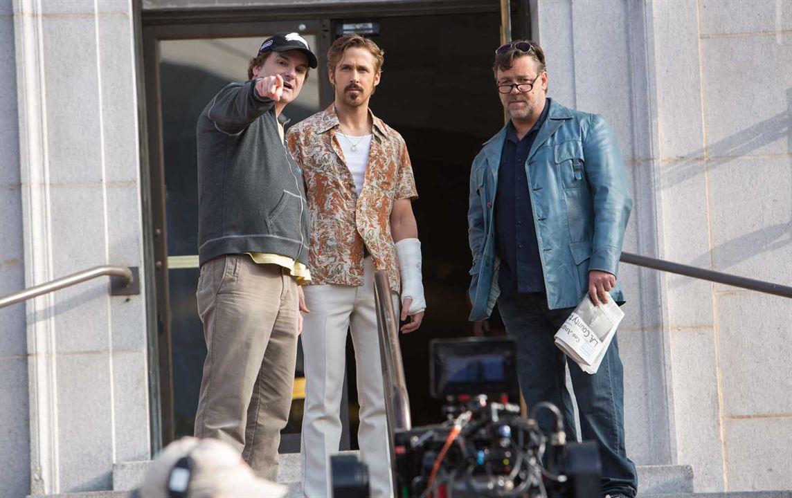 Iyi Adamlar : Fotograf Russell Crowe, Ryan Gosling, Shane Black