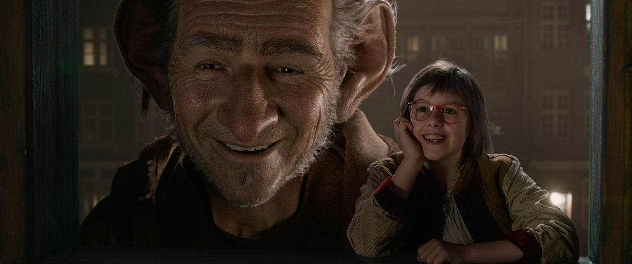 The BFG : Fotograf Mark Rylance, Ruby Barnhill
