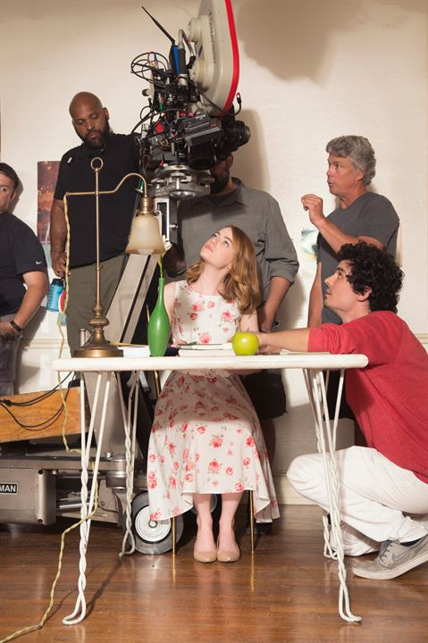 Asiklar Sehri : Fotograf Damien Chazelle, Emma Stone
