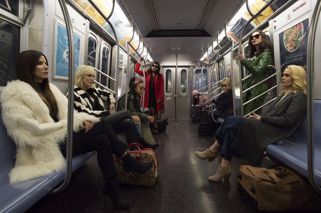 Ocean's 8 : Fotograf Anne Hathaway, Awkwafina, Cate Blanchett, Helena Bonham Carter, Mindy Kaling