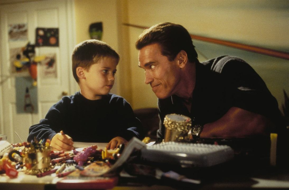 Jingle All The Way : Fotograf Arnold Schwarzenegger, Jake Lloyd