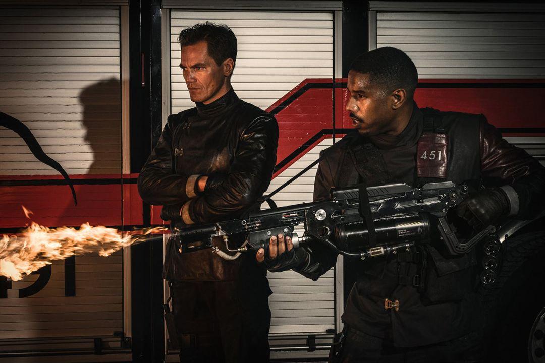 Fahrenheit 451 : Fotograf Michael B. Jordan, Michael Shannon
