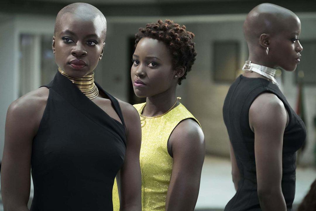 Black Panther : Fotograf Danai Gurira, Lupita Nyong'o
