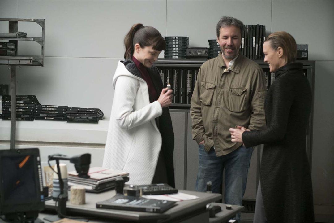 Blade Runner 2049: Biçak Sirti : Fotograf Denis Villeneuve, Robin Wright, Sylvia Hoeks