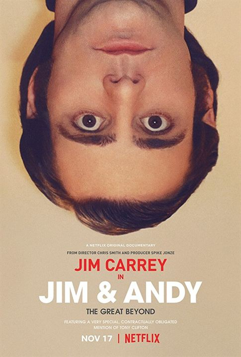 Jim ve Andy : Afis