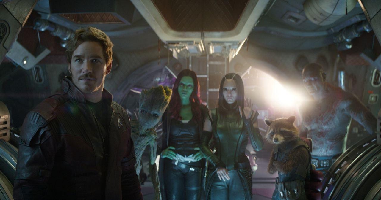 Avengers: Sonsuzluk Savasi : Fotograf Chris Pratt, Dave Bautista, Pom Klementieff, Zoe Saldana