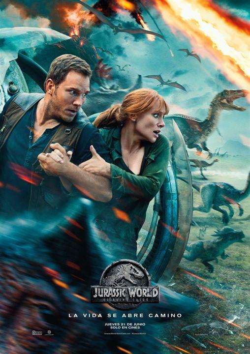 Jurassic World: Yikilmis Krallik : Afis