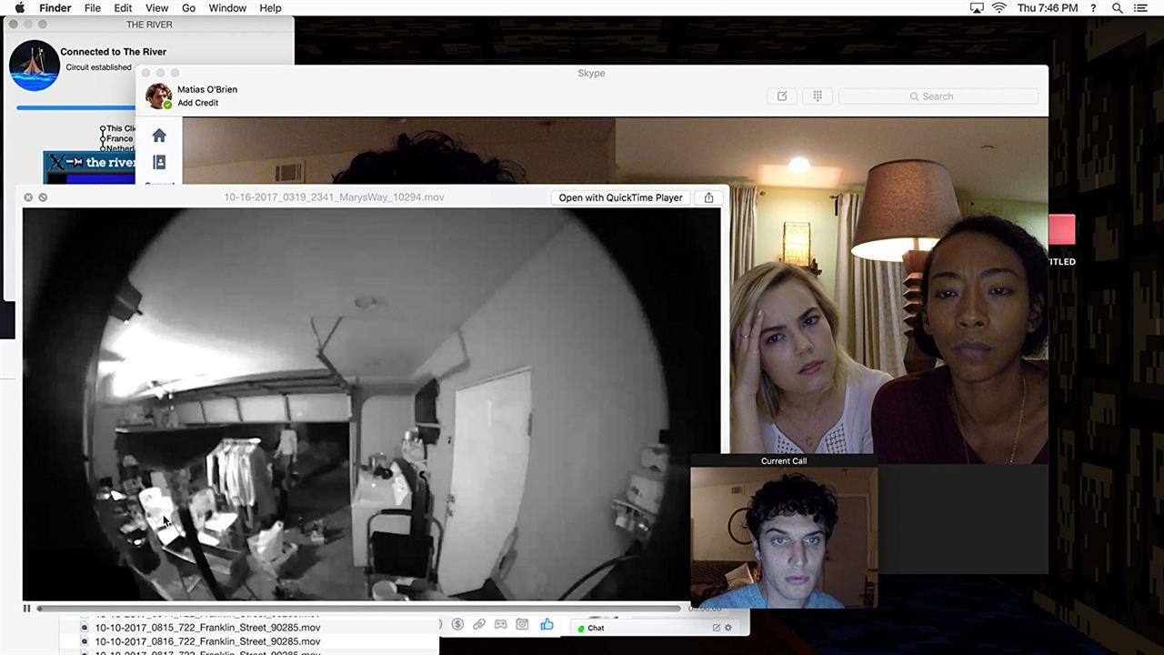 Unfriended: Dark Web : Fotograf Betty Gabriel, Colin Woodell, Rebecca Rittenhouse