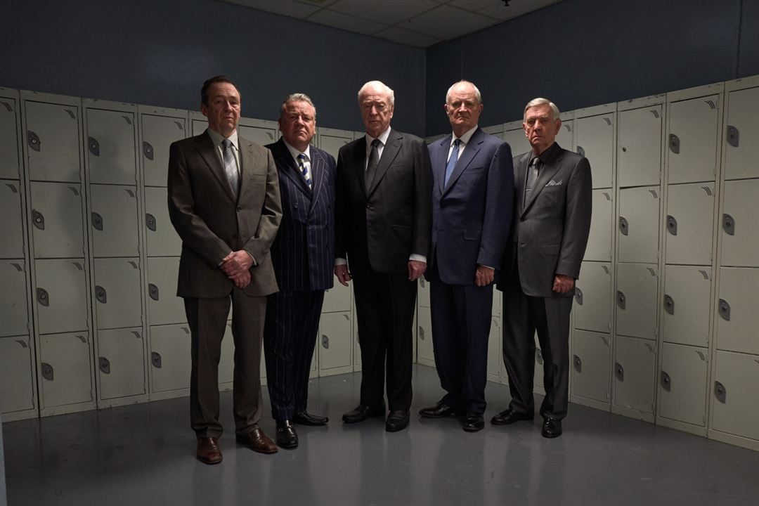 King Of Thieves : Fotograf Jim Broadbent, Michael Caine, Paul Whitehouse, Ray Winstone, Tom Courtenay