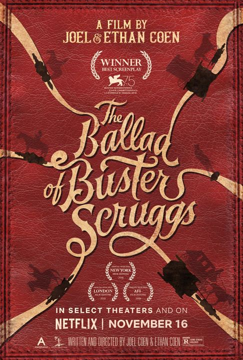 The Ballad of Buster Scruggs : Afis