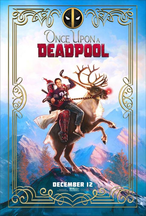 Once Upon a Deadpool : Afis