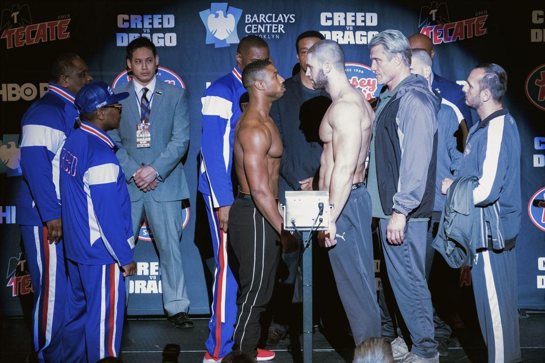 Creed II: Efsane Yükseliyor : Fotograf Dolph Lundgren, Florian Munteanu, Michael B. Jordan