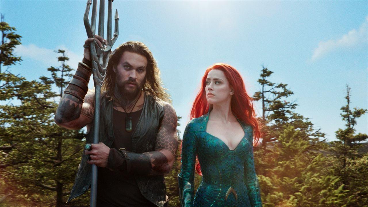 Aquaman : Fotograf Amber Heard, Jason Momoa