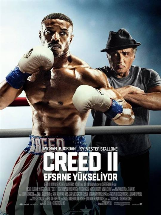 Creed II: Efsane Yükseliyor : Afis