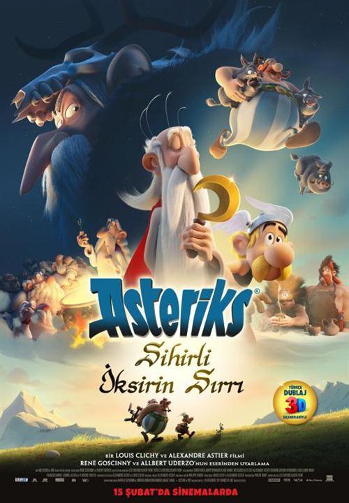 Asteriks: Sihirli Iksirin Sirri : Afis