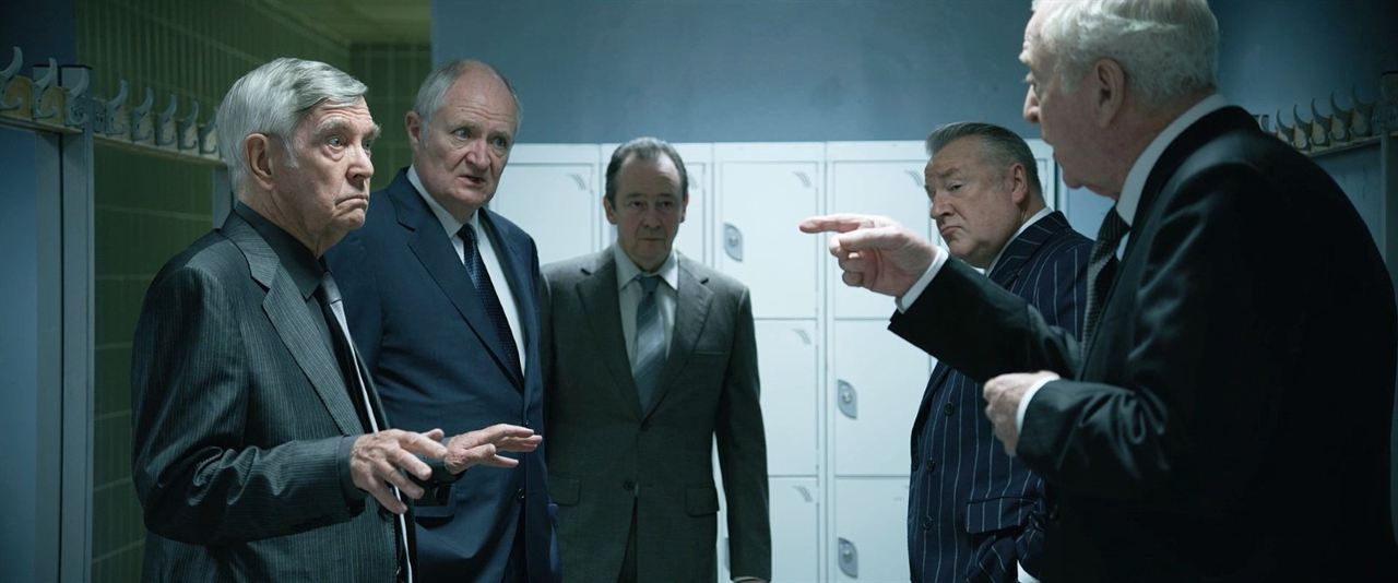 King Of Thieves : Fotograf Jim Broadbent, Michael Caine, Paul Whitehouse, Ray Winstone, Tom Courtenay