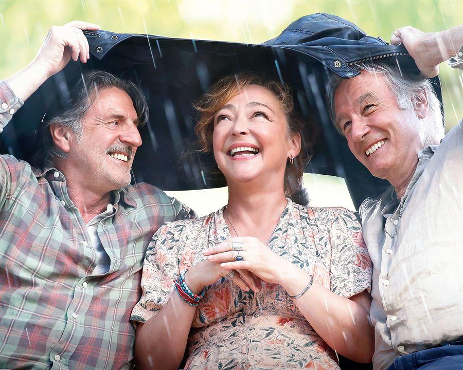Fotograf Bernard Le Coq, Catherine Frot, Daniel Auteuil