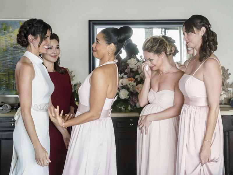 Fotograf Alyshia Ochse, Daniela Ruah, Erin Alexis, Laura Harring