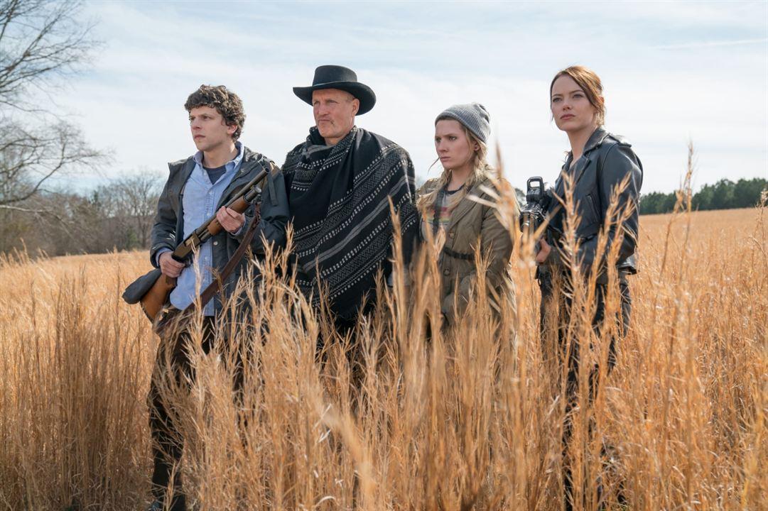 Zombieland: Double Tap : Fotograf Abigail Breslin, Emma Stone, Jesse Eisenberg, Woody Harrelson