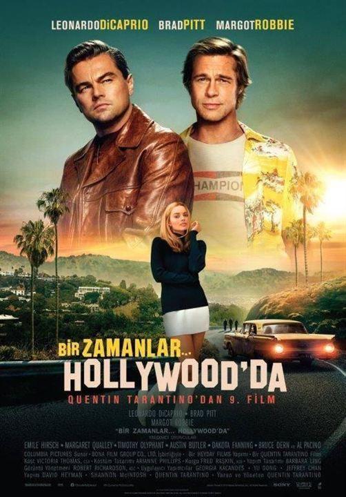 Bir Zamanlar... Hollywood'da : Afis
