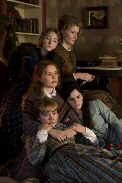Küçük Kadinlar : Fotograf Eliza Scanlen, Emma Watson, Florence Pugh, Laura Dern, Saoirse Ronan