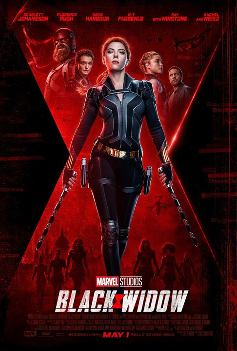 Black Widow : Afis