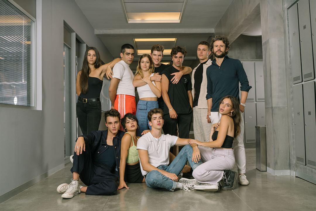 Fotograf Arón Piper, Claudia Salas, Diego Martín, Georgina Amorós, Itzan Escamilla