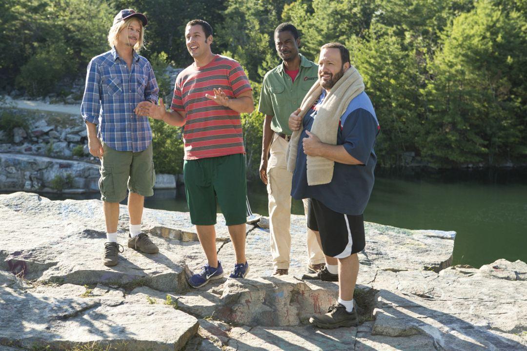 Büyükler 2 : Fotograf Adam Sandler, Chris Rock, David Spade, Kevin James