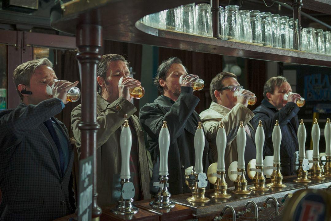 The World's End : Fotograf Eddie Marsan, Martin Freeman, Nick Frost, Paddy Considine, Simon Pegg