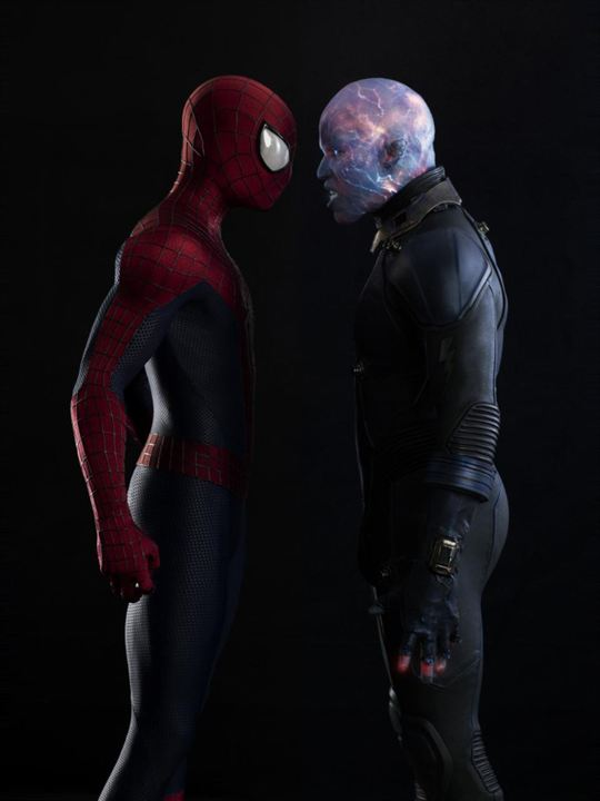 Inanilmaz Örümcek-Adam 2 : Fotograf Andrew Garfield, Jamie Foxx