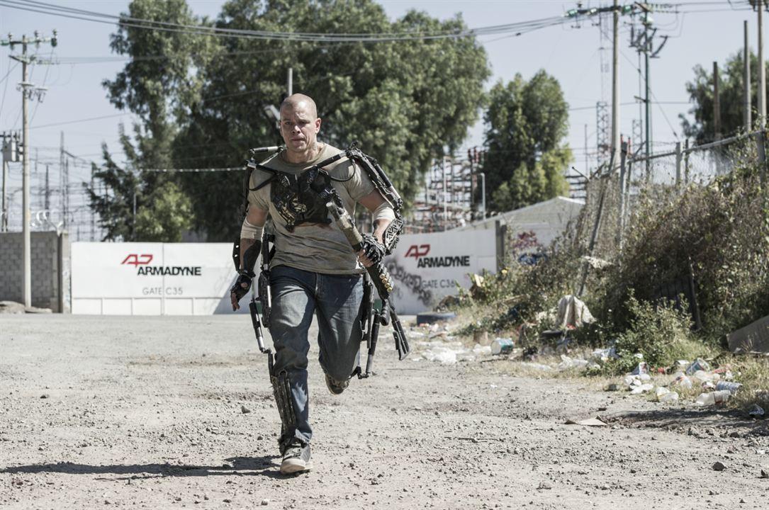 Elysium : Yeni Cennet : Fotograf Matt Damon