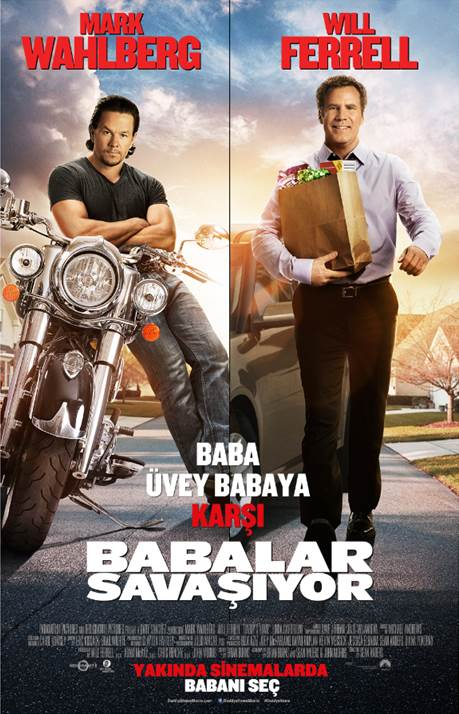 Babalar Savaşıyor  - Daddy's Home (2017) DUAL TR ENG m1080p Bluray Torrent İndir