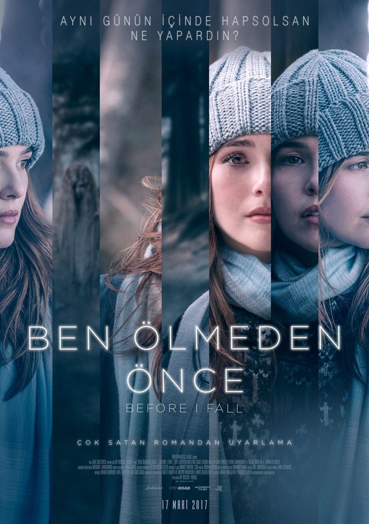 Ben Ölmeden Önce - Before I Fall (2017) DUAL TR ENG m720p Bluray Torrent indir