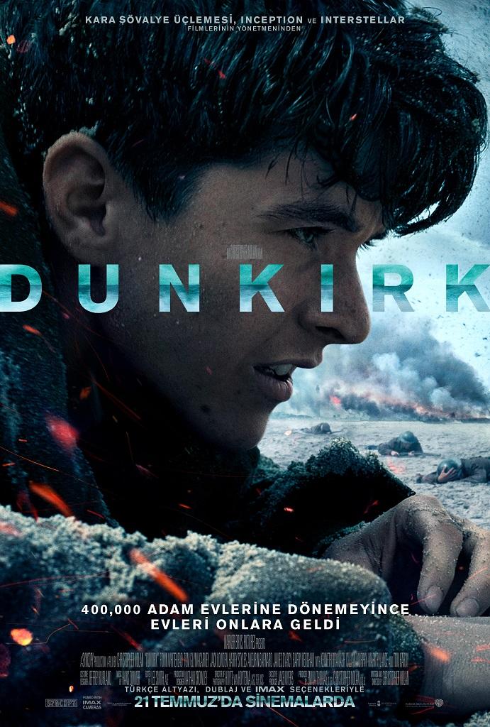 Dunkirk (2017) Türkçe Dublaj m720p BluRay Torrent İndir