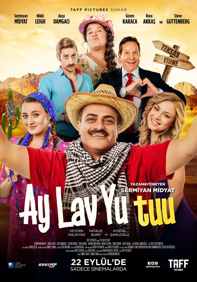 Ay Lav Yu Tuu (2017) Yerli Film HDTV 720p x264 AC3 Torrent İndir - DCRGDizi.com