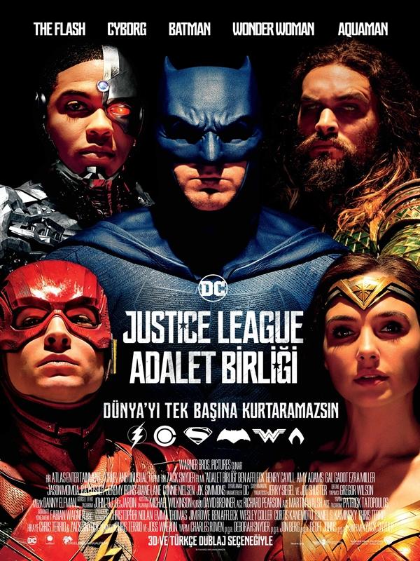 Justice League: Adalet Birliği (2017) Dual TR ENG m720p Torrent