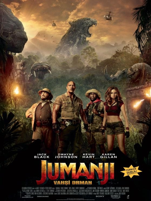 Jumanji Welcome To The Jungle - Jumanji: Vahşi Orman (2017) m720p DUAL TR-ENG Torrent indir