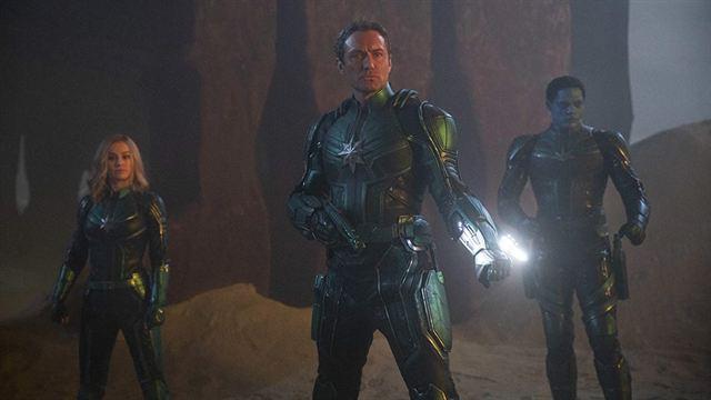 Captain Marvelın Yeni Posterinde Tüm Ekip Bir Arada Haberler