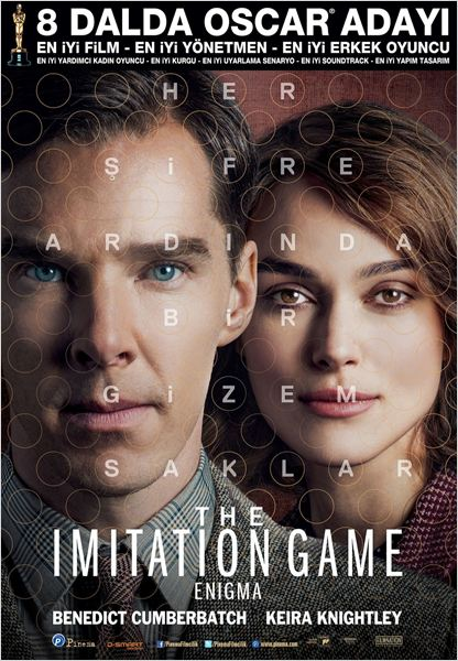The Imitation Game: Enigma : Afis