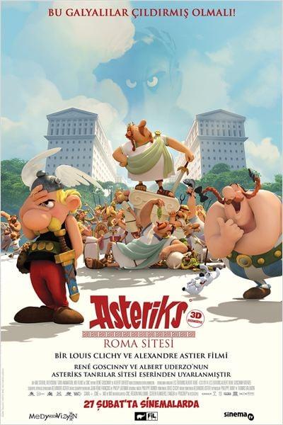 Asteriks: Roma Sitesi : Afis