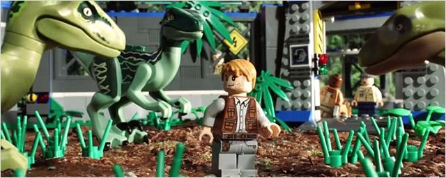 Legolardan Jurassic World!
