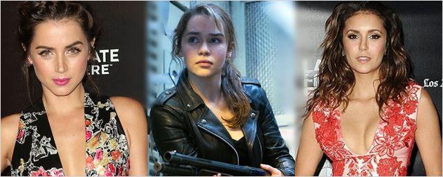 Hollywood'tan Taze Haberler! Nina Dobrev, Emilia Clarke, Ana de Armas...