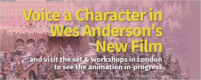 Wes Anderson Filminde Yer Alma Şansı!