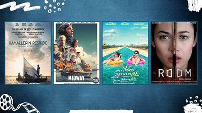 """Vizyondaki Filmler: """"Hayallerin Peşinde"""", """"Midway"""", """"Palm Springs"""""""